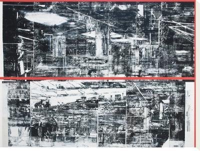 Untitled (neoprene II)-Chris Dorland-Stretched Canvas Print