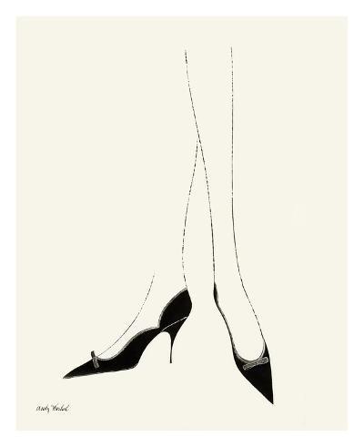 Untitled (Pair of Legs in Highheel), c. 1958--Art Print
