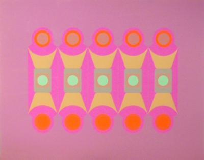 Untitled - Pink-Arthur Boden-Limited Edition