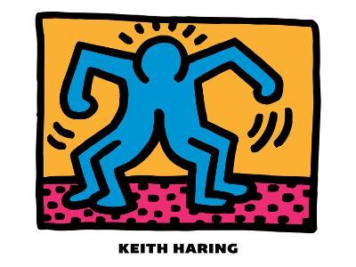 Untitled Pop Art-Keith Haring-Giclee Print