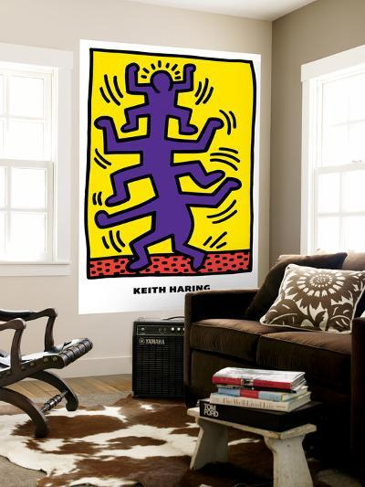 Untitled Pop Art-Keith Haring-Wall Mural