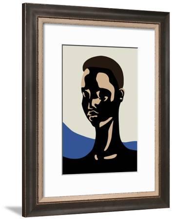 Untitled Portrait, 2017--Framed Giclee Print