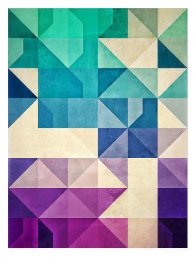 Untitled (Pyrply)-Spires-Art Print
