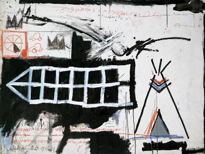 Untitled (Samo, New York)-Jean-Michel Basquiat-Giclee Print