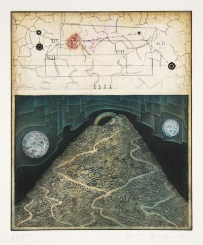Untitled Suite 1 # 6 Two Moons-Tighe O'Donoghue-Limited Edition