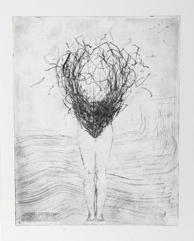 Untitled - Swimmer-Donald Saff-Collectable Print