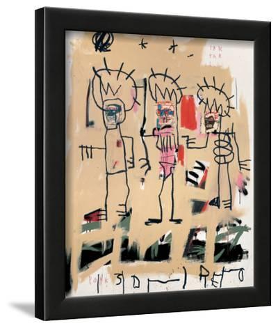 Untitled (Three Kings)-Jean-Michel Basquiat-Framed Giclee Print