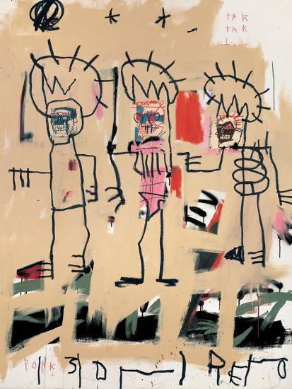 Untitled Three KingsBy Jean Michel Basquiat