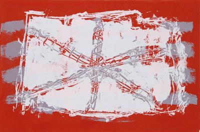 Untitled VII - Red Sand Dollar-Lea Nikel-Limited Edition