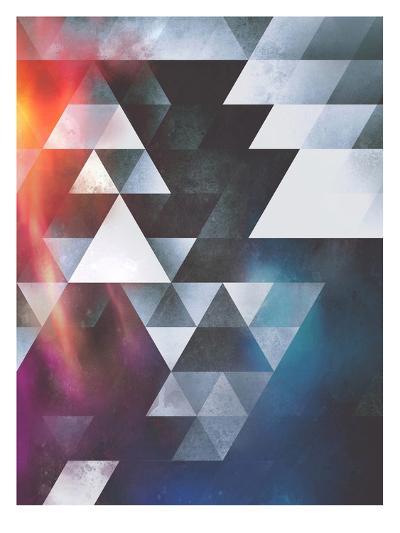 Untitled (wyy tww gryy)-Spires-Art Print