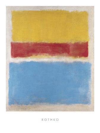 Untitled (Yellow, Red and Blue), c.1953-Mark Rothko-Art Print