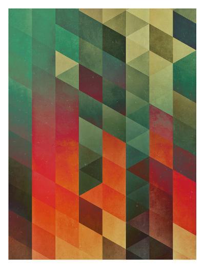Untitled (yrrynngg zkyy)-Spires-Art Print