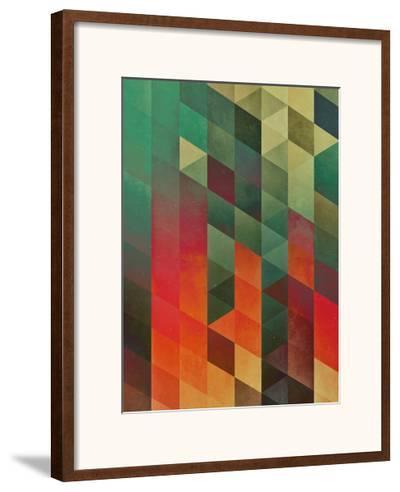 Untitled (yrrynngg zkyy)-Spires-Framed Art Print