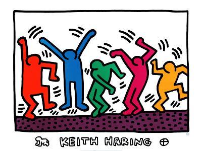 Untitled-Keith Haring-Art Print