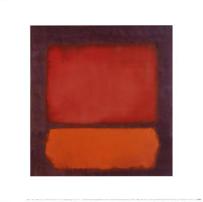 Untitled-Mark Rothko-Art Print