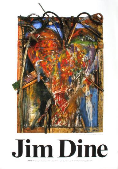 Untitled-Jim Dine-Art Print
