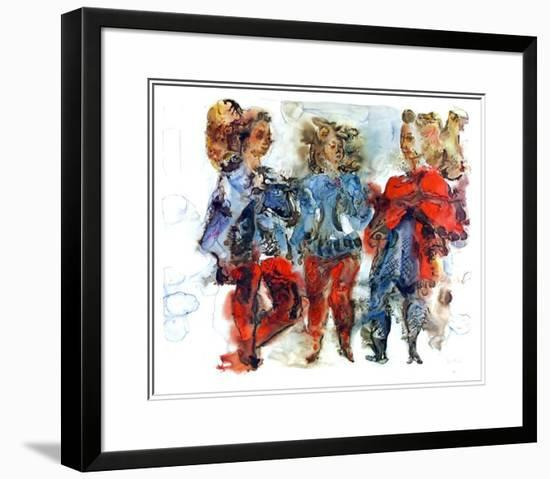 Untitled-Chaim Gross-Limited Edition Framed Print