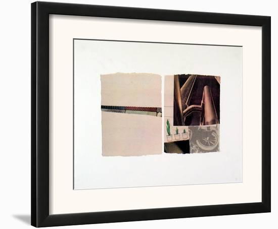 Untitled-Robert Rauschenberg-Framed Art Print