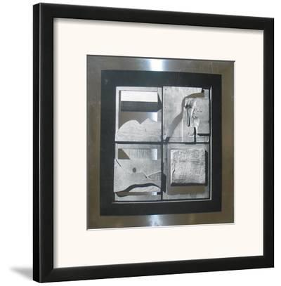 Untitled-Louise Nevelson-Framed Art Print