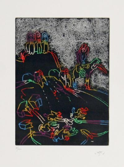Untitled-Roberto Matta-Limited Edition