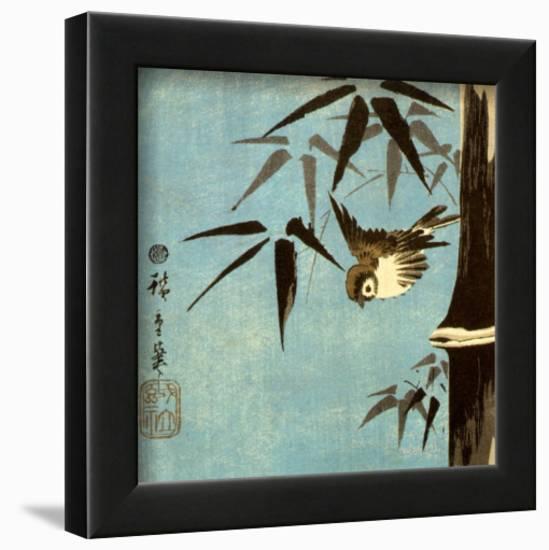 Untitled-Ando Hiroshige-Lamina Framed Art Print