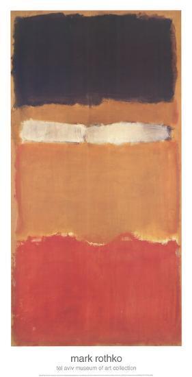 Untitled-Mark Rothko-Art Print