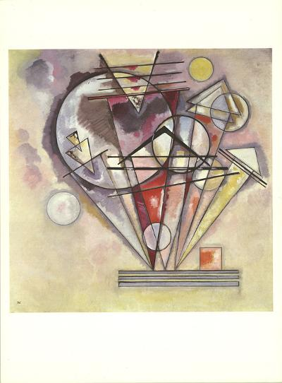 Untitled-Wassily Kandinsky-Art Print