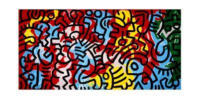 Untitled-Keith Haring-Giclee Print