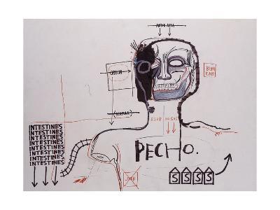 Untitled-Jean-Michel Basquiat-Giclee Print