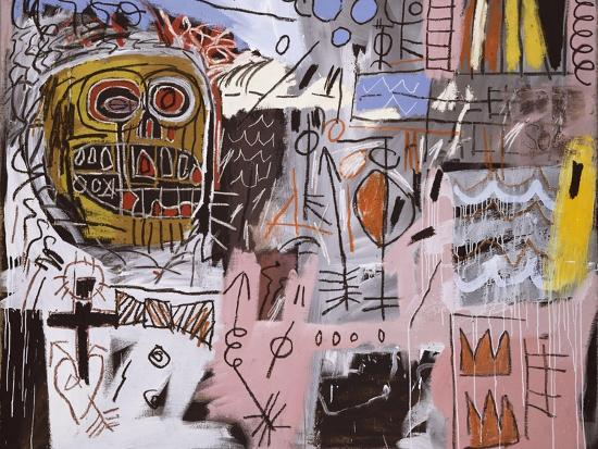 Untitled-Jean-Michel Basquiat-Premium Giclee Print