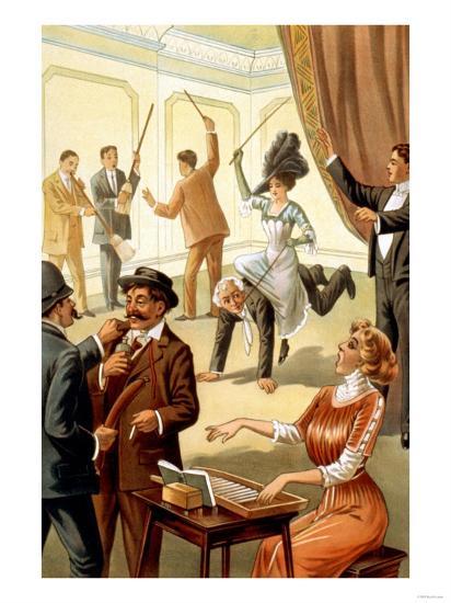 Unusual Acts under Hypnosis--Art Print