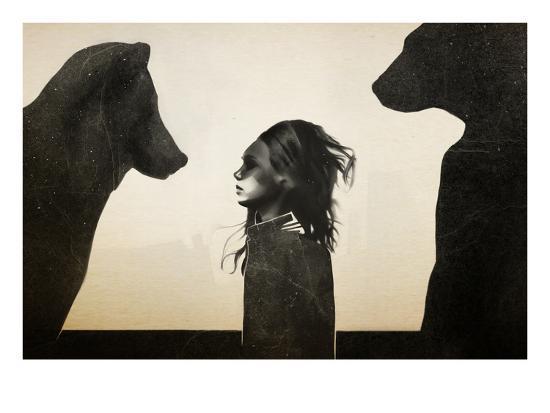 Unusual Encounter-Ruben Ireland-Art Print