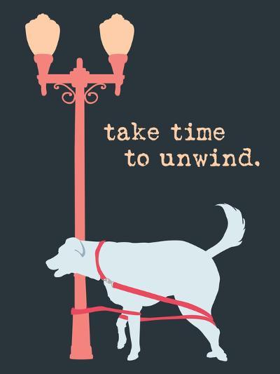 Unwind - Dark Version-Dog is Good-Art Print