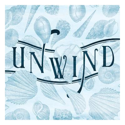 Unwind Shells-Jace Grey-Art Print