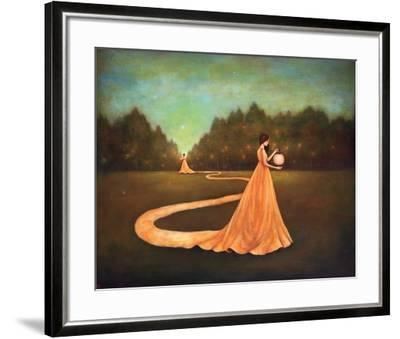 Unwinding the Path to Self-Discovery-Duy Huynh-Framed Art Print