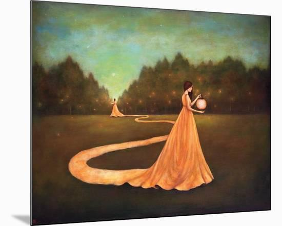 Unwinding the Path to Self-Discovery-Duy Huynh-Mounted Art Print