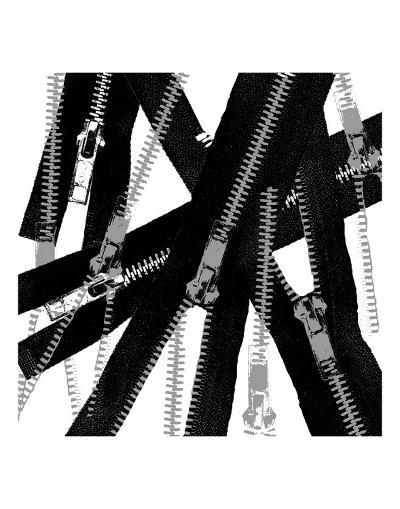 Unzipped-Erin Clark-Art Print