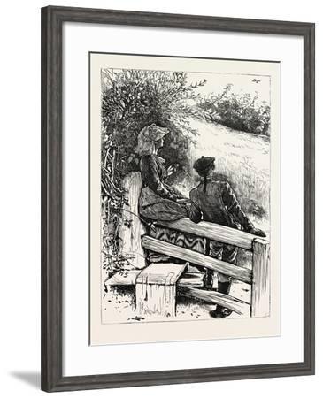 Up Springs the Lark, Shrill-Voiced, and Loud; the Messenger of Morn!--Framed Giclee Print
