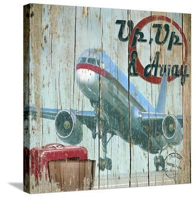 Up, Up, and Away-Karen J^ Williams-Stretched Canvas Print