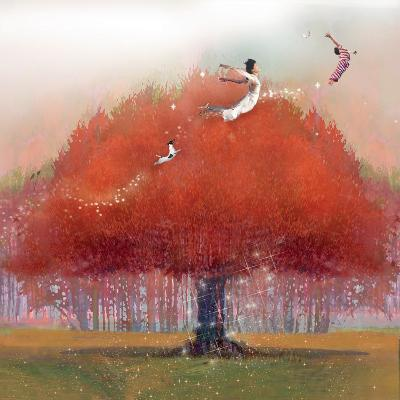Up We Go-Nancy Tillman-Art Print