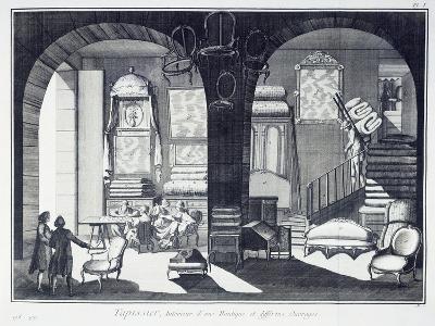 Upholsterer--Giclee Print