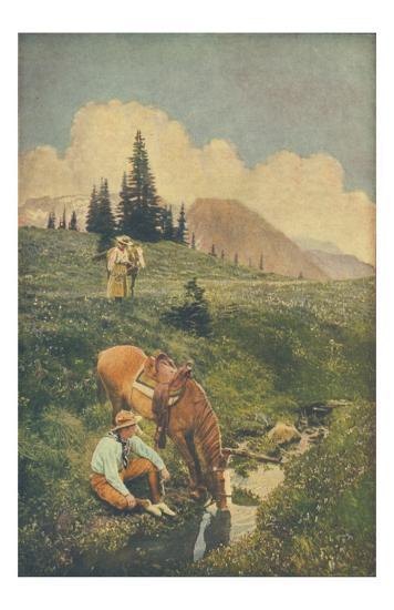 Upland Riders No. 61--Art Print