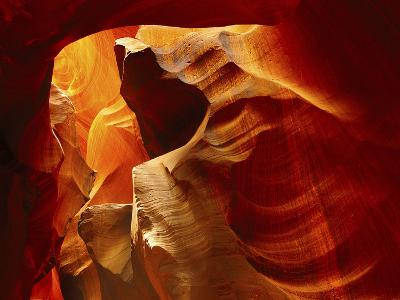 Upper Antelope Canyon, Page, Arizona, USA-Michel Hersen-Photographic Print