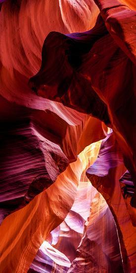 Upper Antelope Canyon Rock Formations, Page, Arizona, USA--Photographic Print