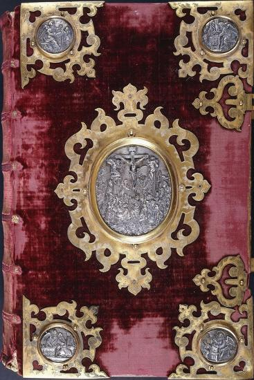Upper Cover of a German Bible--Giclee Print
