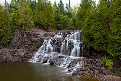 Upper Falls of Gooseberry Falls-Wolterk-Photographic Print