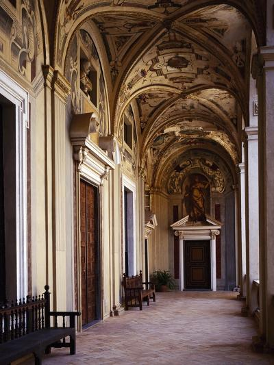 Upper Floor Portico--Giclee Print