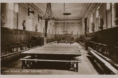 Upper School, Eton College--Photographic Print