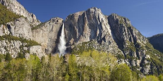 Upper Yosemite Falls, Yosemite National Park, California, Usa-Rainer Mirau-Photographic Print