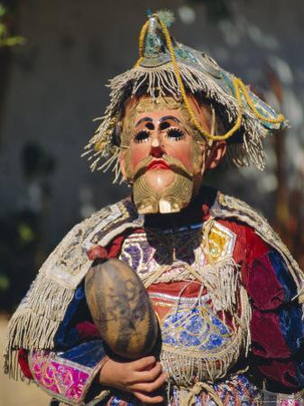Chichicastenango, Dance of the Conquistadors, Guatemala, Central America